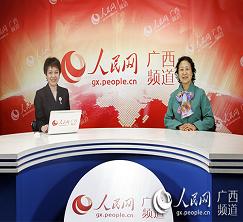 广西注册税务师协会帅志琴副会长接受人民网广西频道专访