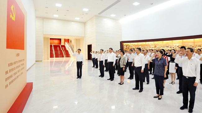 全国税务系统司局级主要领导干部党史学习教育专题读书班在京举办